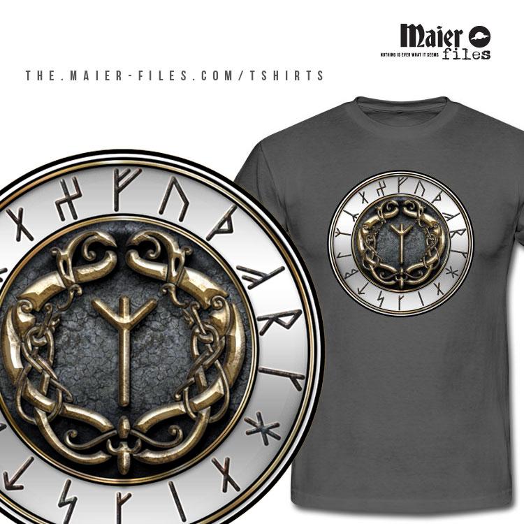 Algiz Rune T-shirt